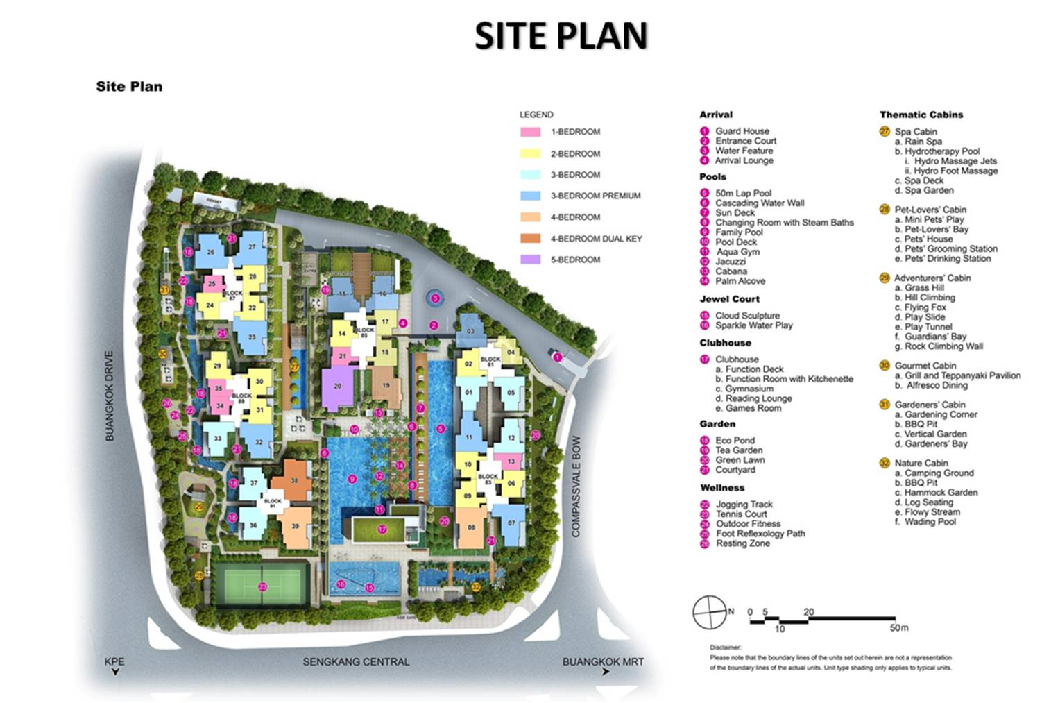 Jewel buangkok site plan developer sale official for Planner site